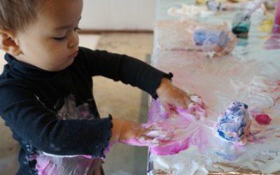 Foam Paint and Flubber