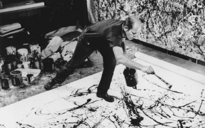 Masters of Art I: Jackson Pollock (string, marble, & pendulum painting)