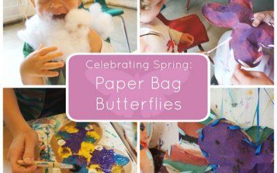 Celebrating Spring: Paper Bag Butterflies