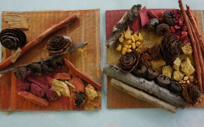 Diptych Nature Collage