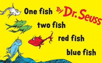 Art & Literacy: Dr. Seuss Fish