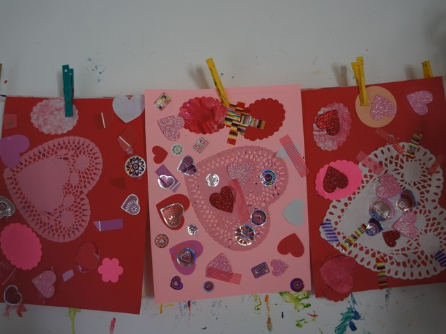 Open-Ended Art: Valentine's Day
