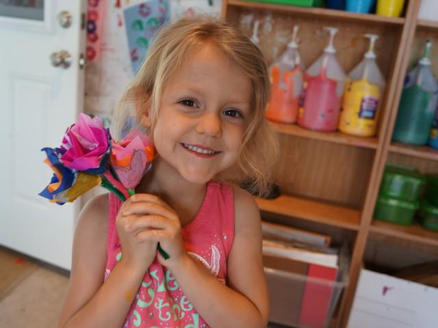 Celebrate Spring: Egg Carton Flower Bouquets