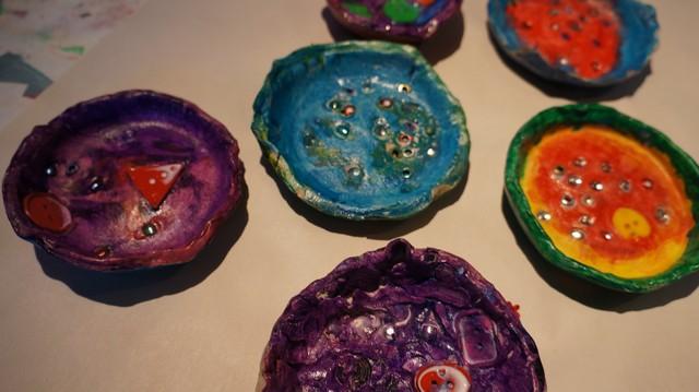 Air-dry Clay Bowls