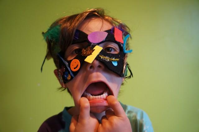 Mask Making Magic