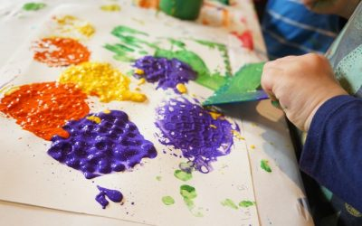 Printmaking & Painting with Wacky Tools