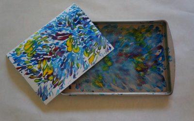 Famous Artists I: Van Gogh Monotypes