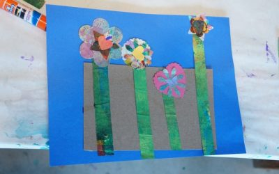 Celebrating Spring: Punchy Paper Garden