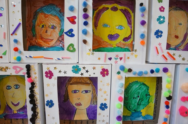 Portraits in a Box